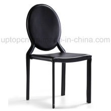 Wholesale Black Commercial Leather Chair Restaurant Cafe (SP-LC221)
